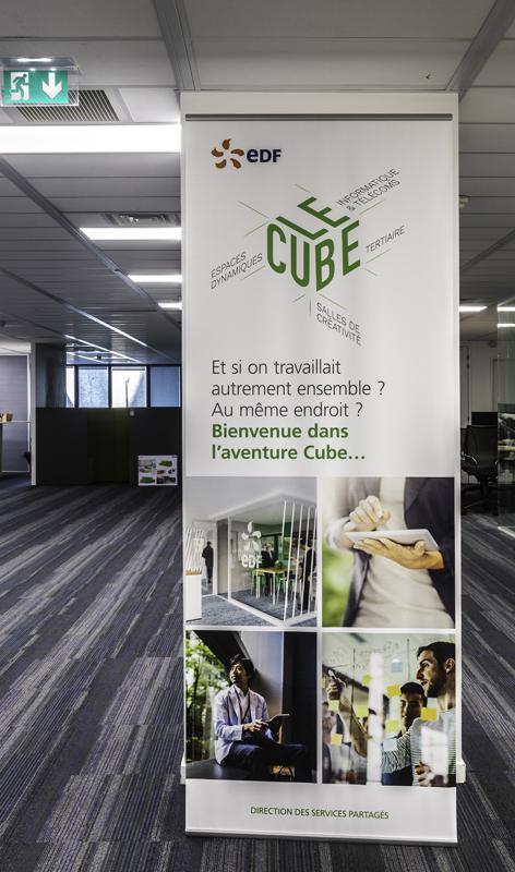 <Center>Edf - Immeuble Le Cube - Nanterre</center>