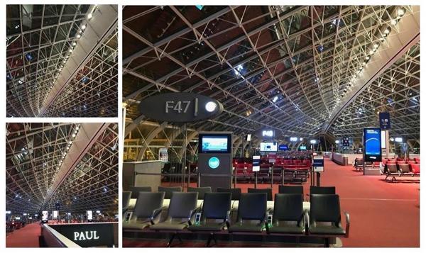 <B><Center>Aéroport CDG - Terminal 2F</B></Center>